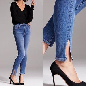 Aritzia denim forum Lola high rise skinny jeans 23